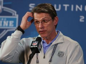 Vikings GM Rick Spielman ponders his team's future